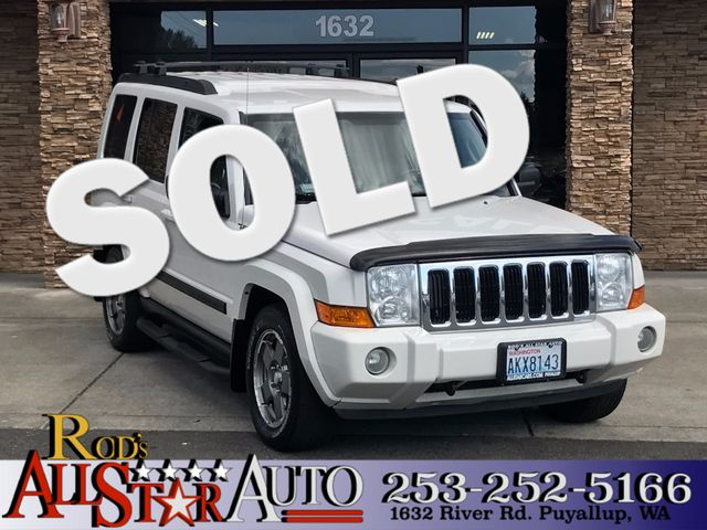 2007 Jeep Commander 4WD The CARFAX Buy Back Guarantee that comes with this vehicle means that you