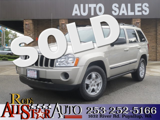 2007 Jeep Grand Cherokee Laredo 4WD The CARFAX Buy Back Guarantee that comes with this vehicle mea