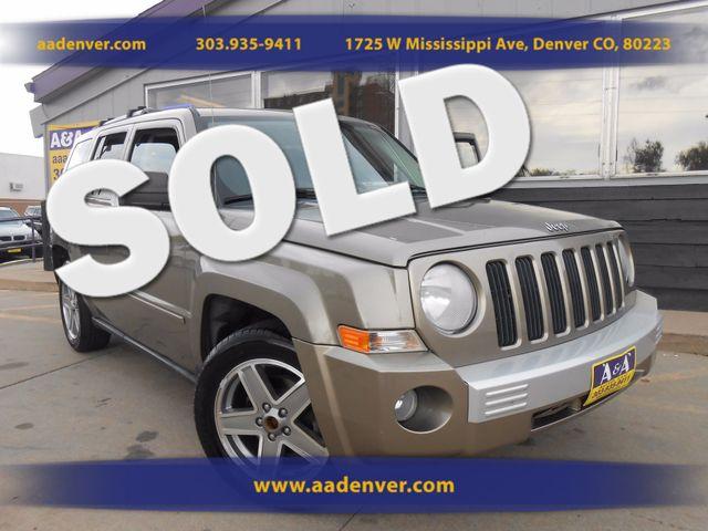 2007 Jeep Patriot Limited 4x4 | Denver, CO | A&A Automotive of Denver in Denver CO