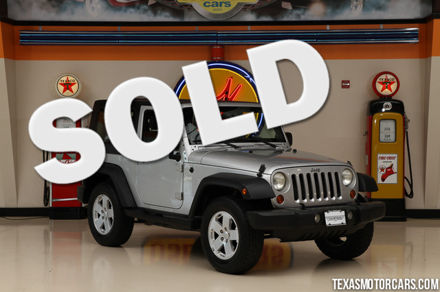 2007 Jeep Wrangler X This 2007 Jeep Wrangler X is in great shape with only 125 964 miles The Wra