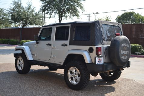 2007 Jeep Wrangler LIFTED Unlimited Sahara | Arlington, Texas | McAndrew Motors in Arlington, Texas