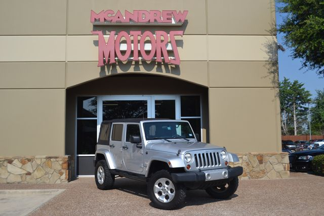 2007 Jeep Wrangler LIFTED Unlimited Sahara | Arlington, Texas | McAndrew Motors in Arlington Texas