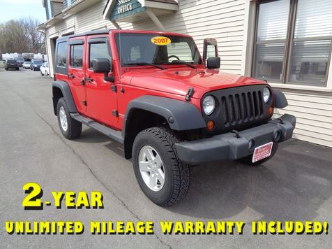 2007 Jeep Wrangler Unlimited X in Brockport