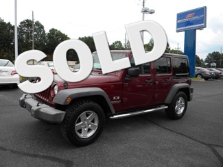 2007 Jeep Wrangler Unlimited X Dalton, Georgia 30721