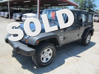 2007 Jeep Wrangler Unlimited X Houston, Mississippi
