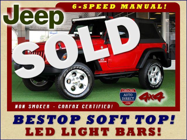 2007 Jeep Wrangler X 4X4  - BESTOP - LED LIGHT BARS! Mooresville , NC 0