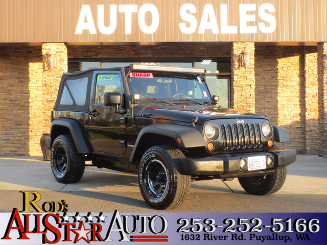 2007 Jeep Wrangler 4WD The CARFAX Buy Back Guarantee that comes with this vehicle means that you c