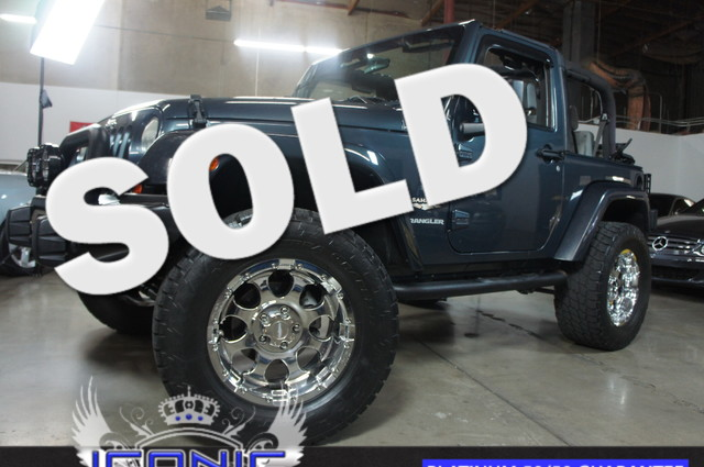 This 2007 Jeep Wrangler Sahara is a Iconic Motors Featured Car