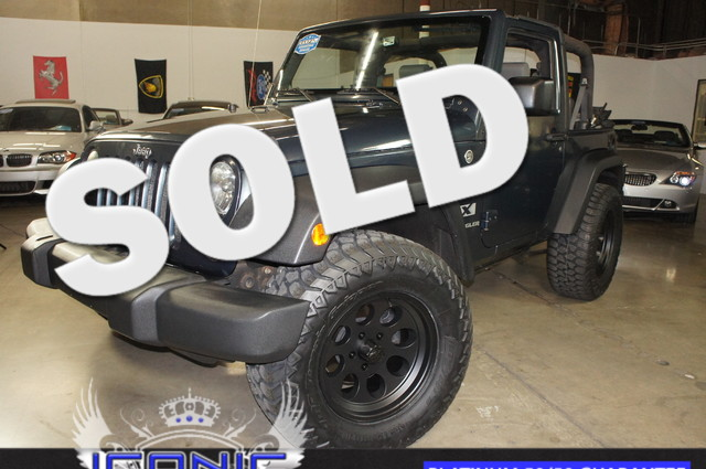 This 2007 Jeep Wrangler X is a Iconic Motors Featured Car