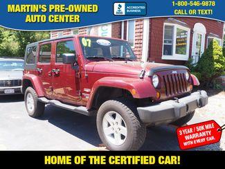 2007 Jeep Wrangler Unlimited Sahara | Whitman, Massachusetts | Martin's Pre-Owned-[ 2 ]