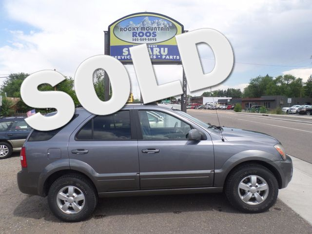 2007 Kia Sorento EX - Tax Season Special! Golden, Colorado 0
