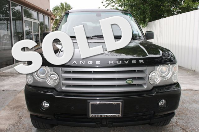 2007 Land Rover Range Rover HSE Houston, Texas 0