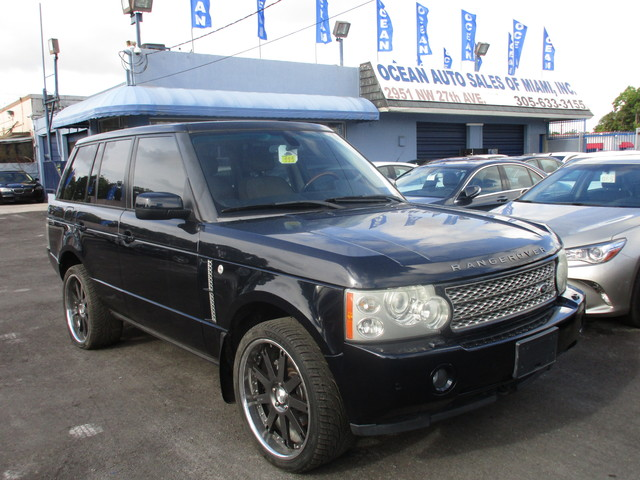 2007 Land Rover Range Rover HSE Come and visit us at oceanautosalescom for our expanded inventory