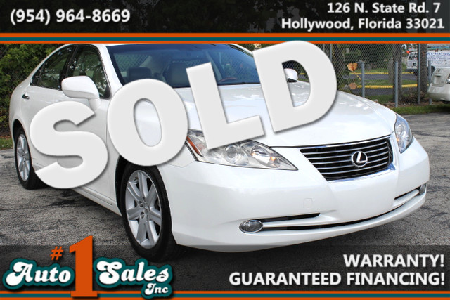 2007 Lexus ES 350  WARRANTY CARFAX CERTIFIED AUTOCHECK CERTIFIED 1 OWNER 19 SERVICE RECORDS