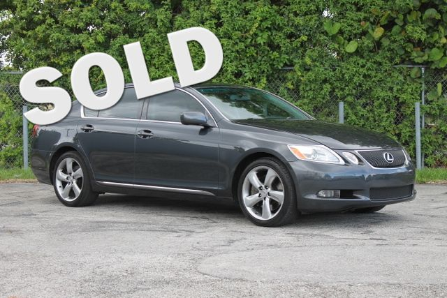 2007 Lexus GS 350  WARRANTY CARFAX CERTIFIED 2 OWNERS 28 SERVICE RECORDS FLORIDA VEHICLE T