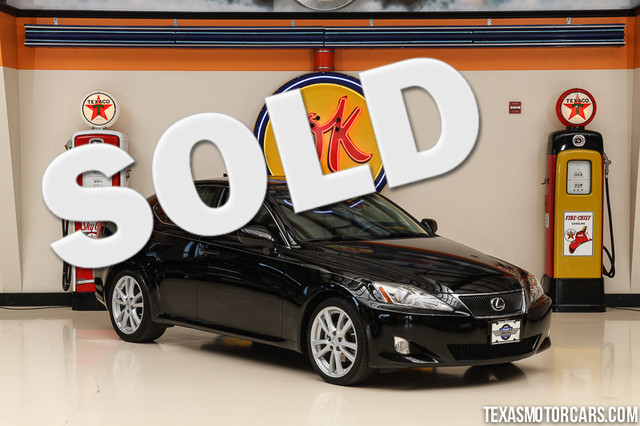 2007 Lexus IS 250 Financing is available with rates as low as 29 wac Get pre-approved in no t