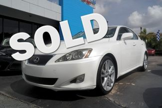 2007 Lexus IS 250 Hialeah, Florida 0