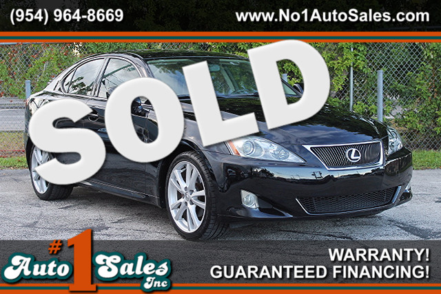 2007 Lexus IS 250  WARRANTY CARFAX CERTIFIED AUTOCHECK CERTIFIED 1 OWNER FLORIDA VEHICLE T