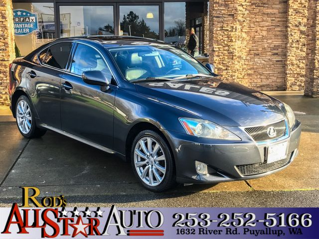 2007 Lexus IS 250 AWD The CARFAX Buy Back Guarantee that comes with this vehicle means that you ca