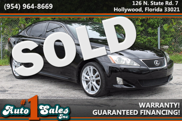 2007 Lexus IS 350  WARRANTY CARFAX CERTIFIED AUTOCHECK CERTIFIED 1 OWNER 14 SERVICE RECORDS