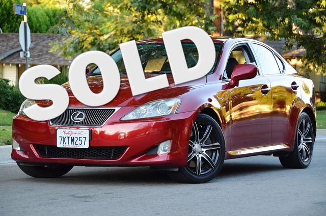 2007 Lexus IS 350  AUTO - 95K MILES - PREMIUM PKG - XENON Reseda, CA 0
