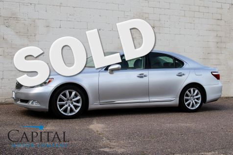 2007 Lexus LS 460 Executive Sedan w/Climate Controlled Front & Rear Seats, Navigation & Premium Audio in Eau Claire