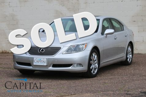 2007 Lexus LS 460 V8 Luxury Car with Navigation, Rear View Camera and Comfort Pkg in Eau Claire