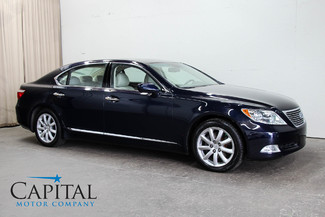 2007 Lexus LS 460L V8 Sedan with Heated/Cooled Seats, Mark Levinson Audio & Auto Parking Pkg in Eau Claire