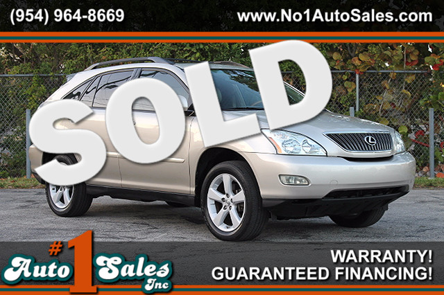 2007 Lexus RX 350  WARRANTY CARFAX CERTIFIED 2 OWNERS 10 SERVICE RECORDS FLORIDA VEHICLE T
