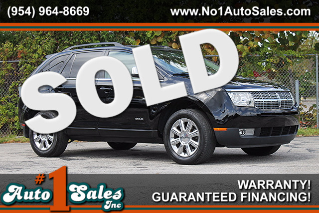 2007 Lincoln MKX  WARRANTY CARFAX CERTIFIED 2 OWNERS 6 SERVICE RECORDS FLORIDA VEHICLE TRA