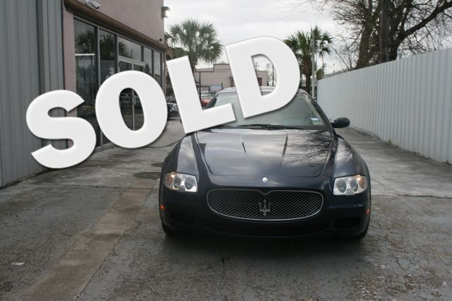 2007 Maserati Quattroporte Houston, Texas 0