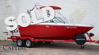 2007 Mastercraft X-15 Wakeboard Boat W/Tower, Board Racks, Hard Ballast, Surf Plates & Cruise in Eau Claire, Wisconsin