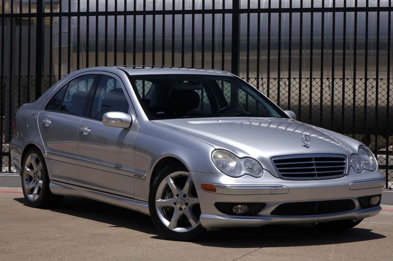 2007 Mercedes-Benz C230 2.5L Sport* Leather*Sunroof* ONLY 81k Mi* EZ Fin**   Plano, TX   Carrick's Autos in Plano TX