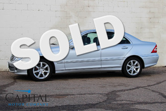 2007 Mercedes-Benz C280 4Matic AWD Luxury Car w/Heated Seats, Moonroof & Low Miles Eau Claire, Wisconsin
