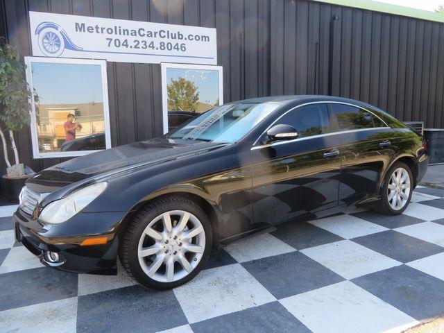 2007 Mercedes-Benz CLS550 5.5L Charlotte-Matthews, North Carolina 2