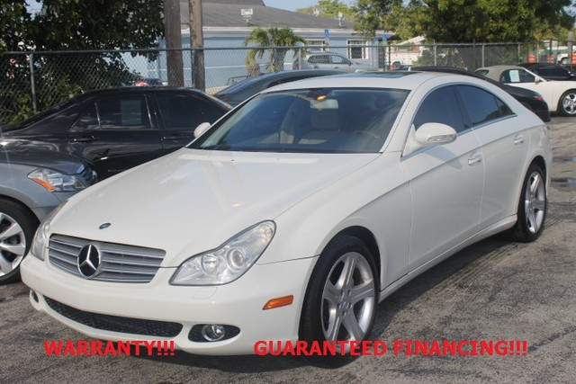 2007 Mercedes CLS550 55L  WARRANTY CARFAX CERTIFIED AUTOCHECK CERTIFIED 2 OWNERS FLORIDA V