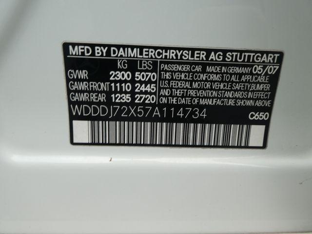 2007 Mercedes-Benz CLS550 5.5L Leesburg, Virginia 32