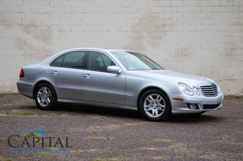 2007 Mercedes-Benz E320 BlueTEC Clean Diesel Sedan w/Navigation, Harman/Kardon Premium Audio & Heated Seats in Eau Claire