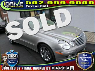 2007 Mercedes-Benz E550 5.5L | Louisville, Kentucky | iDrive Financial in Lousiville Kentucky