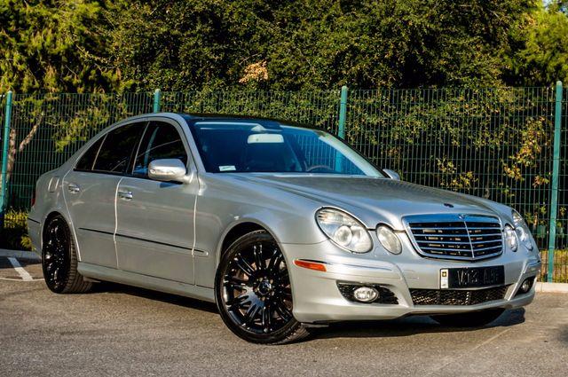2007 Mercedes-Benz E550  AMG SPORT - P2 PKG - NAVI - HTD STS Reseda, CA 3