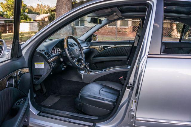 2007 Mercedes-Benz E550  AMG SPORT - P2 PKG - NAVI - HTD STS Reseda, CA 12