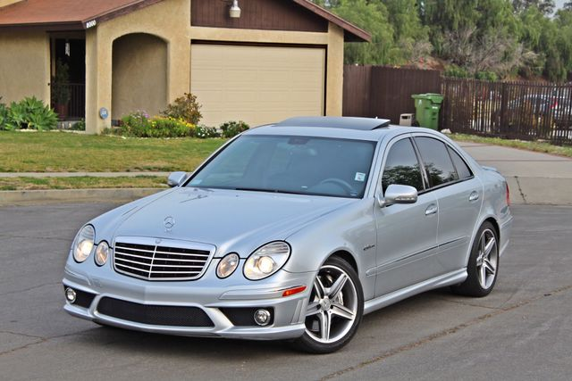 2007 Mercedes-Benz E63 6.3L AMG ONLY 84K ORIGINAL MLS NAVIGATION NEW TIRES SUNROOF XENON LEATHER Woodland Hills, CA 1
