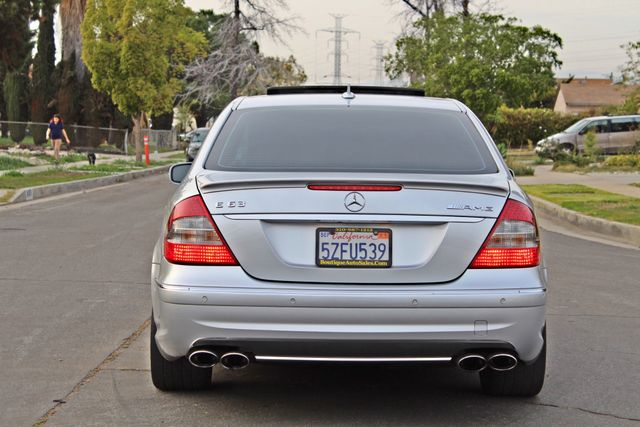 2007 Mercedes-Benz E63 6.3L AMG ONLY 84K ORIGINAL MLS NAVIGATION NEW TIRES SUNROOF XENON LEATHER Woodland Hills, CA 8