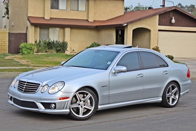 2007 Mercedes-Benz E63 6.3L AMG ONLY 84K ORIGINAL MLS NAVIGATION NEW TIRES SUNROOF XENON LEATHER Woodland Hills, CA 2
