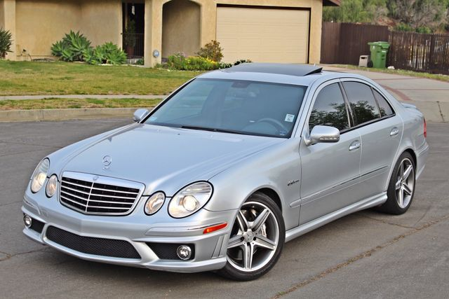 2007 Mercedes-Benz E63 6.3L AMG ONLY 84K ORIGINAL MLS NAVIGATION NEW TIRES SUNROOF XENON LEATHER Woodland Hills, CA 3