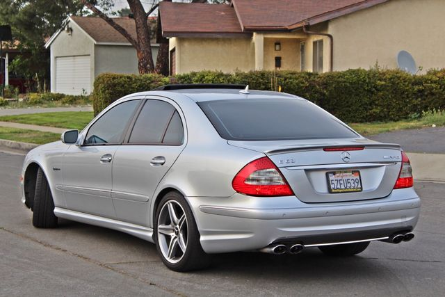 2007 Mercedes-Benz E63 6.3L AMG ONLY 84K ORIGINAL MLS NAVIGATION NEW TIRES SUNROOF XENON LEATHER Woodland Hills, CA 6