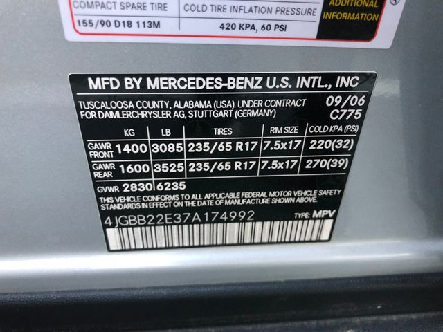 2007 Mercedes-Benz ML320 3.0L Leesburg, Virginia 36