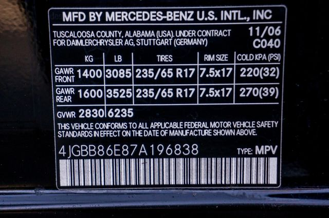 2007 Mercedes-Benz ML350 3.5L Reseda, CA 39
