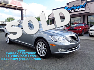 2007 Mercedes-Benz S550 5.5L V8 Charlotte, North Carolina