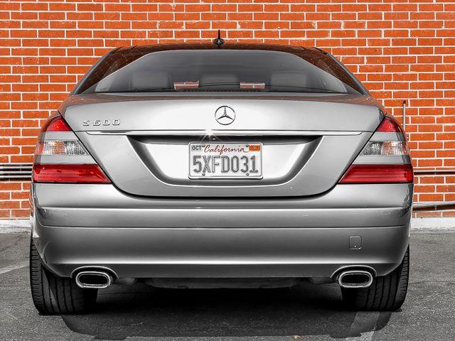 2007 Mercedes-Benz S600 5.5L V12 Burbank, CA 3